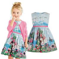 Retail 2016 New Arrival Summer girl dress Sleeveless rabbit ...