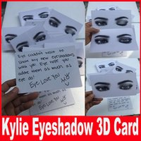 New Kylie Cosmetics 3D card for kyshadow eyeshadow the Bronz...