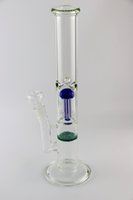 Nouveau design coloré verre Bong 8 bras arbre perc fritte disque tuyau d'eau de percolateur 17