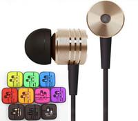 NOUVEAU Métal Xiaomi In-Ear 3.5mm Universal écouteurs Noise Cancelling Casque écouteur pour HTC Huawei LG SONY 6s iphone mp3 de Samsung