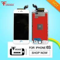 Assemblée LCD 6S iPhone Noir Blanc Pour 4,7 pouces d'affichage avec écran tactile Digitizer remplacement gratuit DHL d'expédition 100% testé