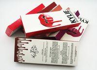 Kylie Kit Lèvres Jenner lèvres brillant lèvres lèvres Set Lèvres Liquide Matte Maquillage durable marque non-bâton tasse labial libre dhl