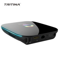 Tritina NBAS Unlocked 4K TV Box Kodi 16,0 Quad core 2 Go 8Go / 16Go Android 5.1 2.4G / 5G Wifi streaming Media Player
