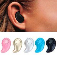 Mini Headset Headphones Bluetooth Earphones Stereo Light Wir...