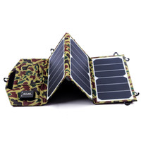 Hot Sunpower 21W Portable Solar Panel Charger For Mobile Pho...