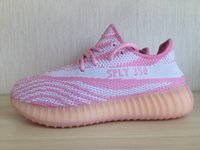 2016 Original Kanye West 350 Boost Low Pink ROSE UPGRADED FI...