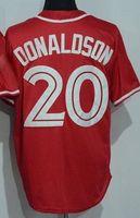Discount Toronto Blue Jays 20 DONALDSON Baseball Jerseys, 19 ...