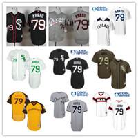 Chicago White Sox Mens Baseball Jerseys 53 Melky Cabrera 49 ...