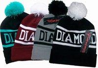 DIAMOND SUPPLY CO BEANIE Hat Hip- Hop wool winter Cotton knit...