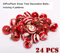 High Quality 24 Pcs Color Drawing Decoration Plastic Ball Ch...