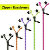 Métal Zipper écouteurs stéréo Basse Casque En Ear avec Mic 3.5mm pour iPhone Samsung Xiaomi vs 50 cent en-casque dhl libre EAR018