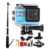 Andoer Ultra Sport fotocamera HD di azione + Andoer 8in1 azione Accessori per fotocamere D3585 + Andoer lega di alluminio selfie Stick DHL + D2817 + D2826