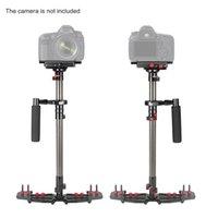 """Handheld Portable Stabilizzatore regolabile in fibra di carbonio per Nikon Canon DSLR della macchina fotografica DV Camcorder 1/4 """"Vite D3797"""