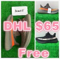 $65 DHL 350 V2 Stealth Grey SPLY- Shoes Kanye West Shoes Sep....