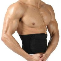 Mens Adjustable Slimming Waist Tummy Fat Burner Belt Body Sh...