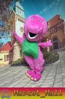 MALL123 Barney Custom Mascot Costume Fancy Dress Adult Carto...