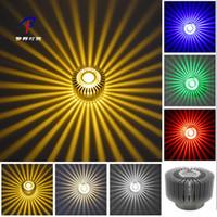 3W LED алюминиевый Потолочный светильник Подвеска лампы Освещение Бра Освещение Flush / поверхностного монтажа потолочные светильники Светильник # # 09