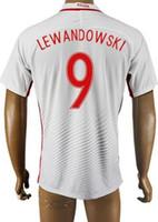 Discount 16- 17 Cheap European Cup Poland 9 LEWANDOWSKI Socce...