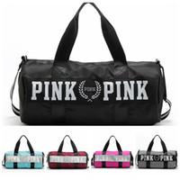 Women Love Pink Handbags VS Brand Totes Fashion Travel Duffl...