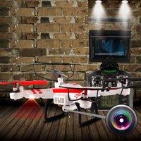Stock dans Etats-Unis Wltoys V686G FPV Real-time 5.8Ghz RC Quadcopters Drone 2MP Caméra + Moniteur Cool