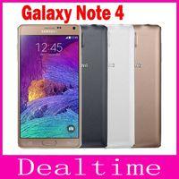 Восстановленный Оригинальный Samsung Galaxy Note 4 N910P разблокирован телефон 5,7-дюймовый 3GB RAM 32GB ROM 4G LTE FDD-16,0