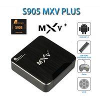 MXV Plus Quad Core S905 TV Box Streaming Media Player Wifi B...