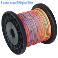 200lb 8 Пряди плетеная леска 1000m Сверхпрочная японская Плетеный линия Multifilament полиэтилена PE Braid Line