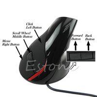 Ergonomic Design USB Vertical Optical Mouse Wrist Healing Fo...