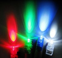 100pcs 4x Colo100pcs OPP Packing LED Laser Finger Beams Part...