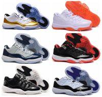 New Air Retro 11 Low Legend Blue Basketball Shoes (11)XI Goo...