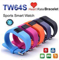 TW64S Waterproof Fitness Tracker Heart Rate monitor Smart ba...