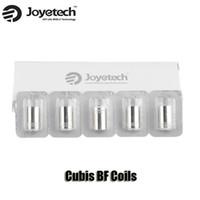 100% Original Joyetech Cubis BF Bobines SS316 0,5 / 0,6 / 1.0ohm Clapton 1.5ohm Notch 0.25ohm Pour Cubis AIO atomiseur