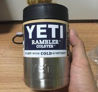 12 oz Yeti Vacuum Insulated Rambler Colster coolers Insulate...