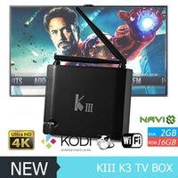 K3 Amlogic S905 OTT TV Box KIII Bluetooth 4K HD 2G 16G ROM Q...