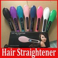 HQT- 906 Fast Hair Straightener Electric Straightening Comb B...