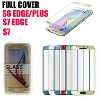 Samsung Galaxy S6 Edge Plus écran 3D Protector verre trempé côté antidéflagrant bord S6 verre trempé DHL gratuit SSC031