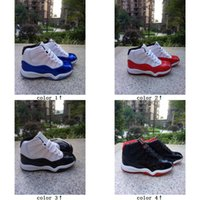 Drop Shipping Kids Basketball Shoes Retro 11 bred concord Ch...