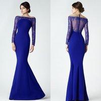 Saiid Kobeisy Royal Blue Mother Of The Bride Custom Made Mer...
