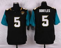 2016 Mens Elite QB #5 Blake Bortles Jaguars Stitched Name Nu...
