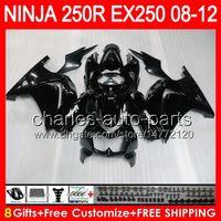 8gifts+ Body For KAWASAKI NINJA ZX 250R EX250 08- 12 TP6 ZX250...