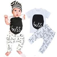 2016 summer style baby boy clothes fashion cotton baby Boys ...