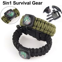 Outdoor Camping Climbing Emergency Multifunction Survival Br...
