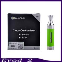 Kanger Evod 2 atomiseur 1.8ml Upgated reconstructible atomiseur BDC réservoir pour la batterie de fil ego 0203147-2