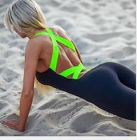 2016 Running yoga Fitness Sport Jumpsuit & Rompers Skinny Bo...