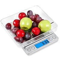 500g Цифровые кухонные весы еды Многофункциональные весы Карманные 0.001oz (0,01 г) Разрешение (серебро) 2AAA батареи в комплекте