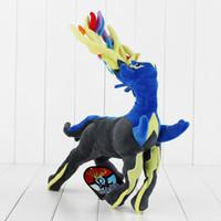 Anime Poke Xerneas Plush Soft Stuffed Doll Toy for kids gift...