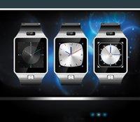 DZ09 Bluetooth Smart Watch Qualité assurée Avec carte SIM pour Android Samsung IOS téléphones intelligents 1,56 pouces écran tactile