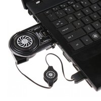 Mini Blue LED USB Air Extracting exhaust cooling fan Cooler ...