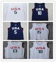 2016 USA Olympic Basketball Jerseys #10 Cheap Basketball Jer...