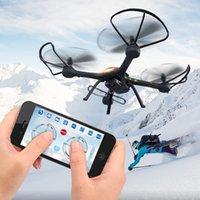 JJRC H11WH 2.4G 4CH 6-Axle WiFi FPV Quadcopter RTF RC Drone avec 2.0MP mode Headless Caméra Altitude Tenir un retour clé +2